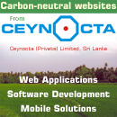 Sri Lanka Carbon Neutral Web Design, Software Development, Mobile Solutions, Opensource CMS customization, SEO and ICT Consultancy by CEYNOCTA